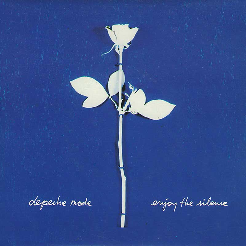 Depeche Mode - Enjoy the Silence single cover